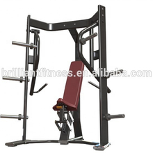 Indoor equipamentos de ginástica comercial ginásio BO-614 placa carregada declínio chest press