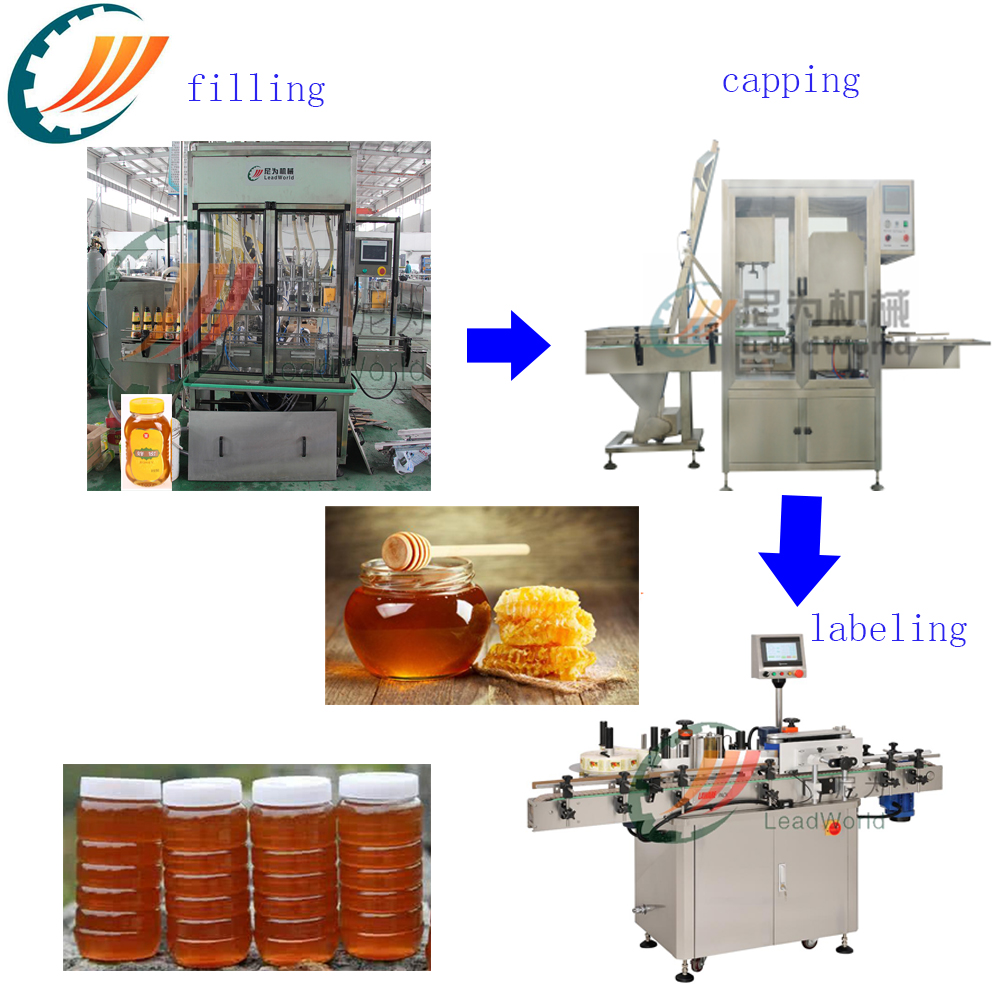 Honey Filling And Capping Machine