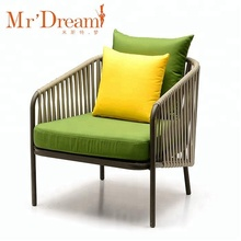 Mr Dream wholesale aluminum rope outdoor furniture