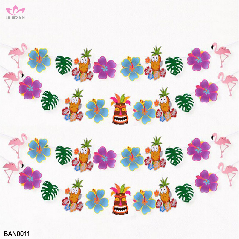 Hawaii Theme Party Supplies Banner Summer Beach Party Decoration