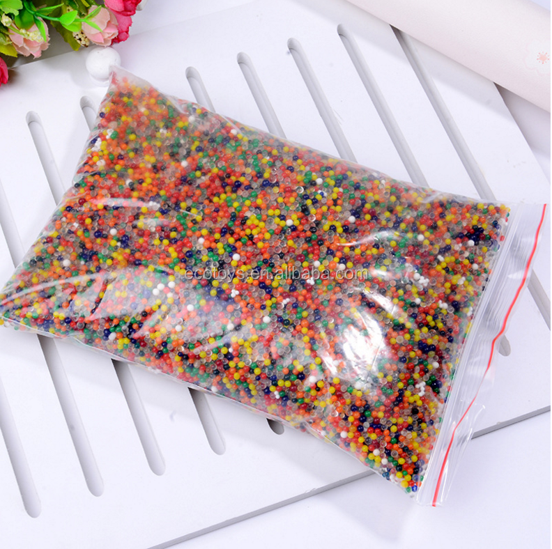 Yiwu Factory Water Absorbent Polymer Beads Crystal Soil Gel Orbeez