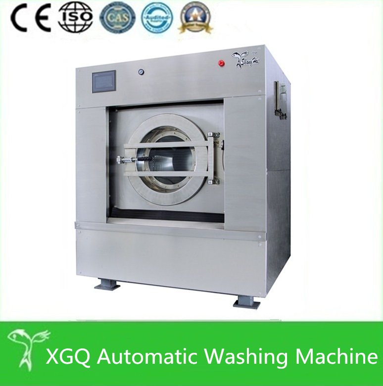 Various commercial laundry washing machines, automatic laundry equipment