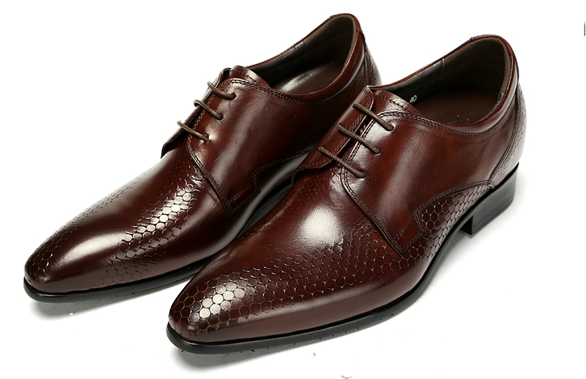 2015 Italian fashion party style genuine leather men dress shoes mens height increase oxford shoes mens shoes oxfords size:38-44