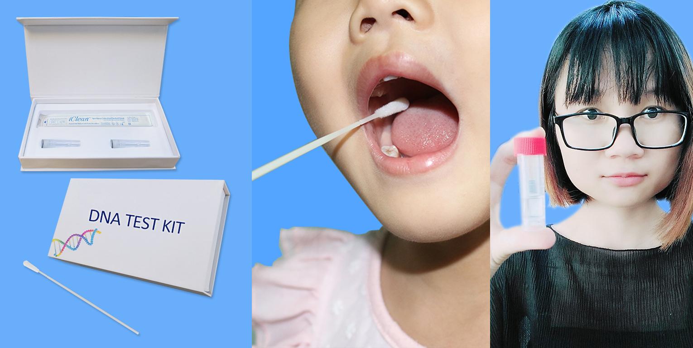 China wattenstaafje leverancier medische thuis dna test kit Specimeninzameling mond borstel nylon stroomden Wattenstaafje voor persoonlijke genetische testen