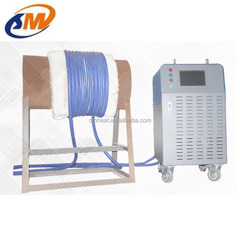 Weld preheating PWHT stress relieving induction heating treatment machine
