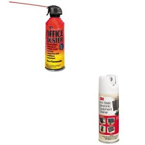 KITMMMCL600REARR3507 - Value Kit - Read Right OfficeDuster Gas Duster (REARR3507) and 3m Antistatic Electronic Equipment Cleaner (MMMCL600)