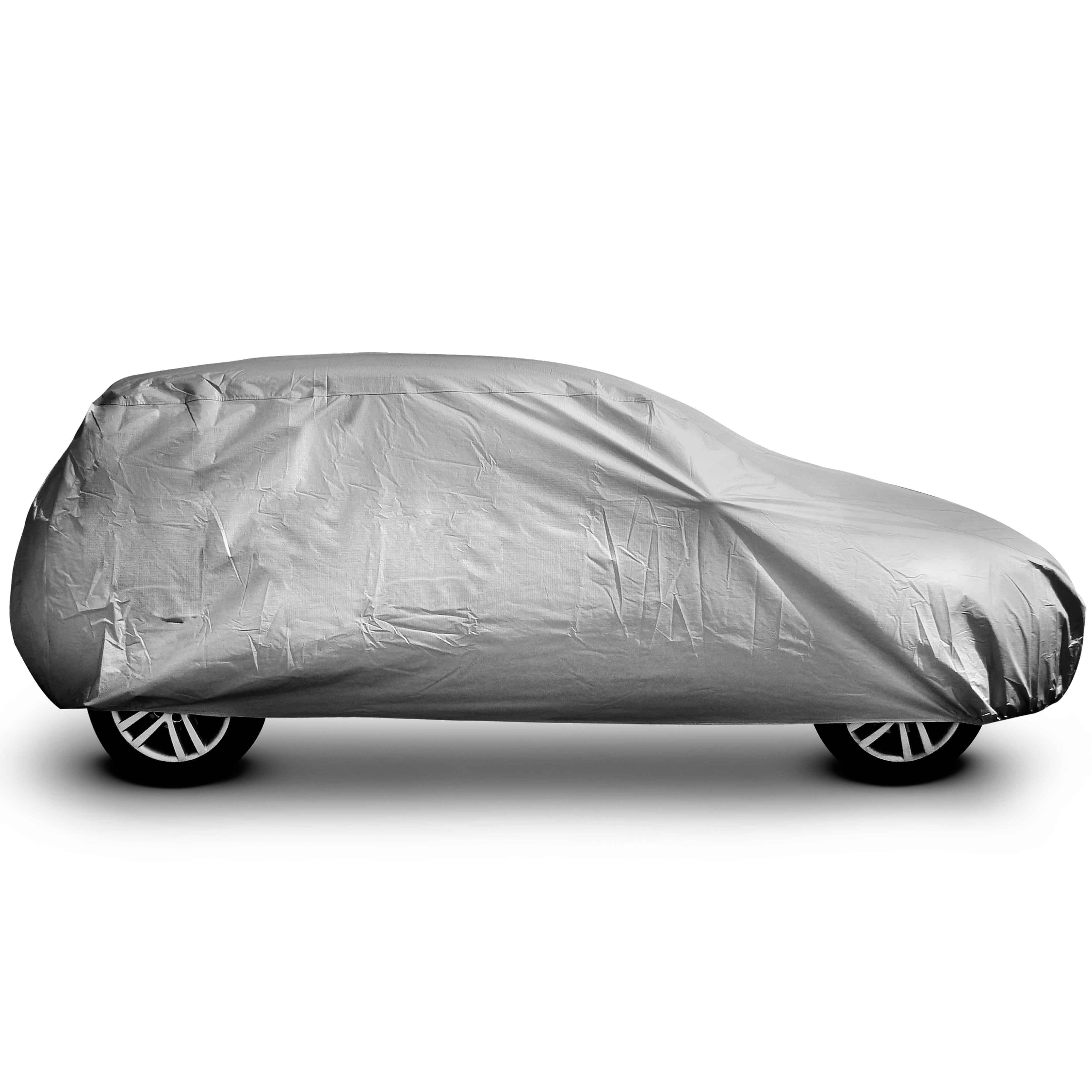 Custom Polyester Zon Outdoor Plastic Waterdichte Auto Cover