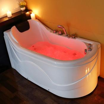 Italy Acrylic Freestanding Massage Small Bathtub
