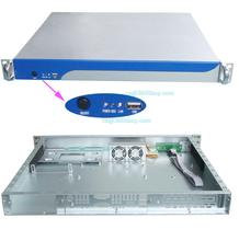 Aluminum panel 1U case S1380 chassis network firewall