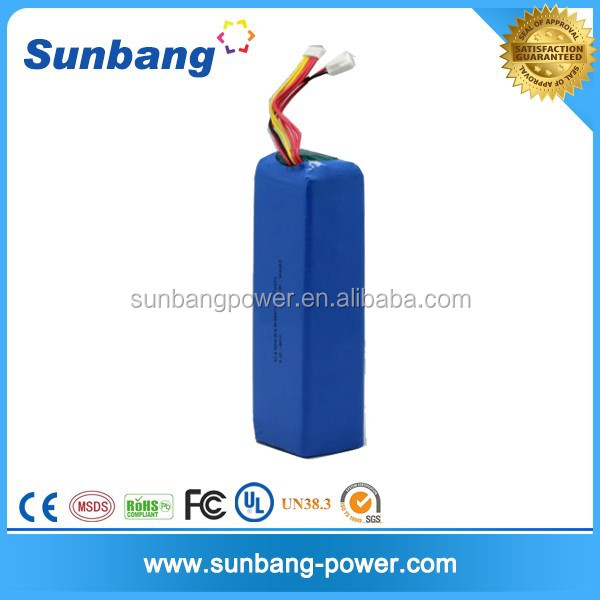 battery operated color changing led lights lithium ion 3s3p 12v 6000mah battery