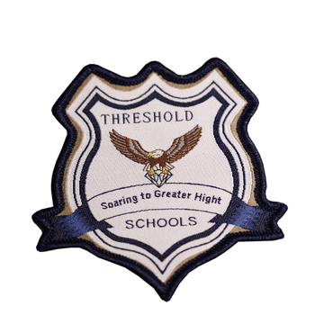 Custom school Uniform sports Embroidery Badge Logo Embroidery patch