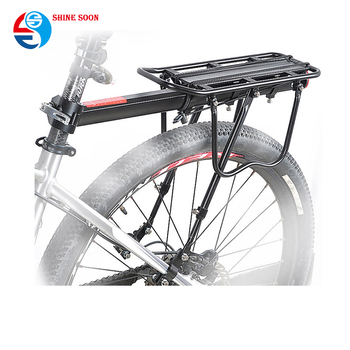 Bike Carrier Rack >> Universal Seatpost Aluminum Alloy Bike Rear Rack Bicycle Luggage Carrier Buy Bicycle Luggage Carrier Bicycle Rear Rack Bike Carrier Product On