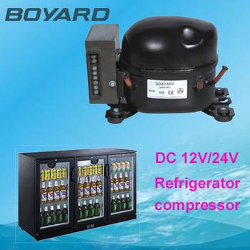 Ce Rohs R134a 12 Volt Dc Refrigerator Fridge Compressor