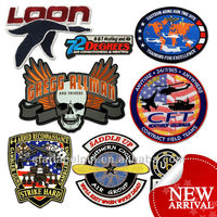 Novelty Custom Cheap Embroidered Sports Patches