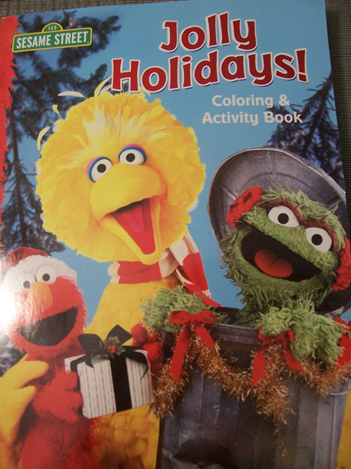 Sesame Street Coloring & Activity Book ~ Jolly Holidays!