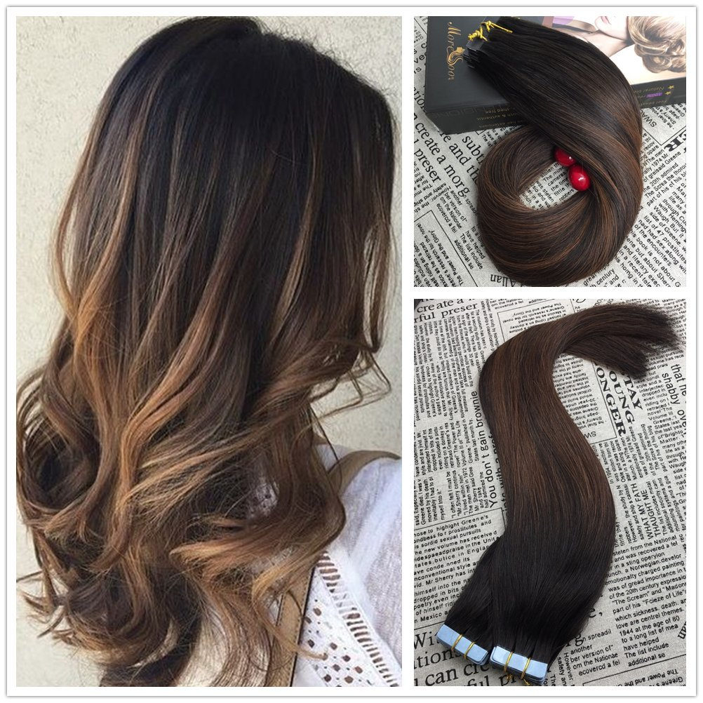 Buy Sunny Balayage Remy Ombre Easy Weft Hair Extensions 18