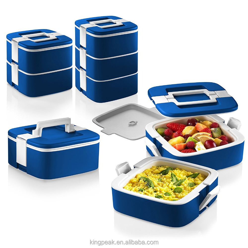 2017 Best Selling Stackable Bento Lunch Box /double Wall Insulated Food  Storage Container/portable Picnic Thermal Container Dish   Buy Food  Packaging Lunch ...