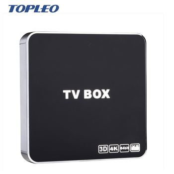 Topleo new design Factory Price imitate metal shell MXQ T10 IPTV video internet tv set top box android os