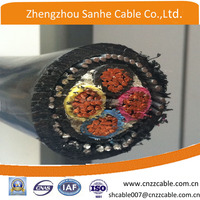 0.6/1kV CU/XLPE/SWA/PVC 4 core Copper conductor steel wire armoured Electrical cable 4*35mm2/4*50mm2