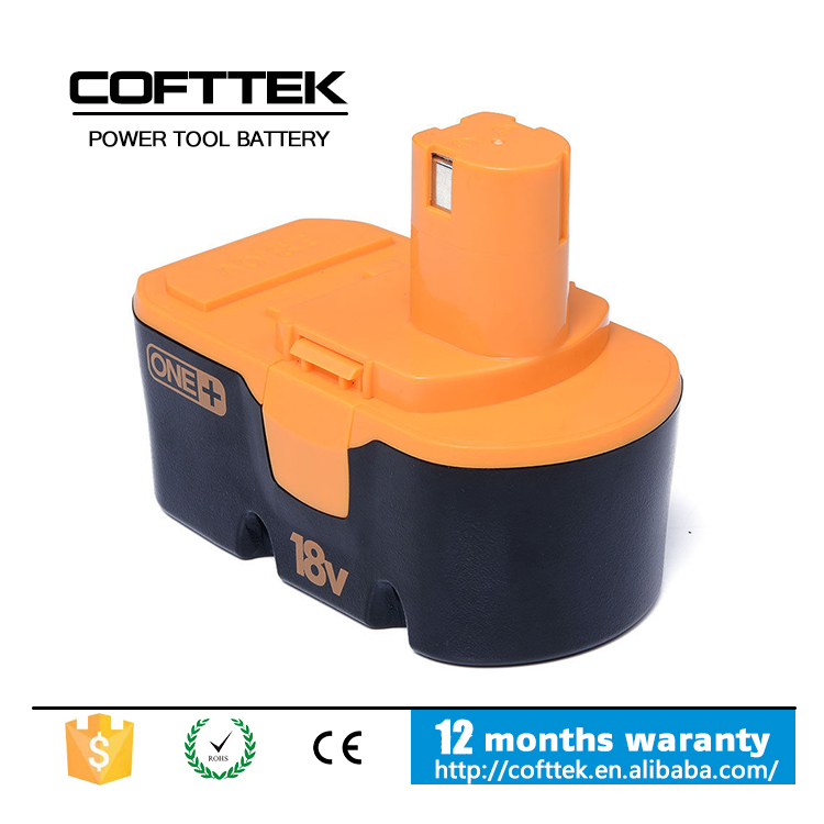 High Capacity 18V 2000mAh Ni-Cd Replacement Battery For Ryobi 130224028 130224007 130255004 ABP1801 ABP1803 BCP1817/2SM BPP-1813