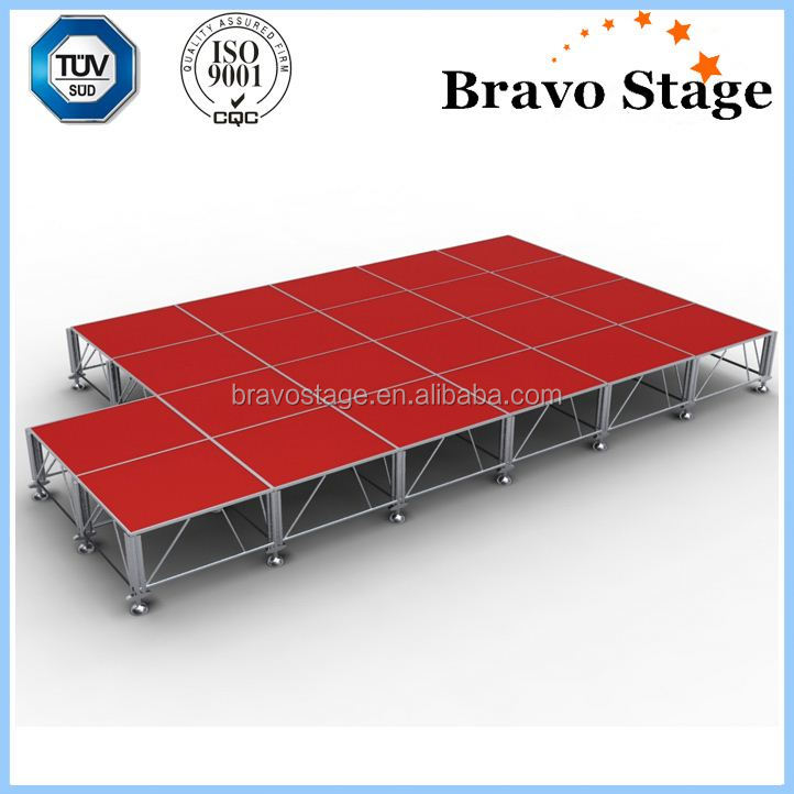 High Quality Intellistage Stage Diy Portable Aluminum Stage For Sale