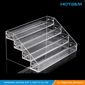 4 Layers Clear Acrylic Nail Polish Display Stand