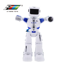 Customized professional battery operated cute toy small fighting autonomous robot