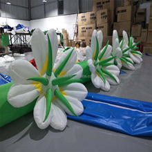 Popular Wedding Party Inflatable flower/Stage events decoration flower Chain