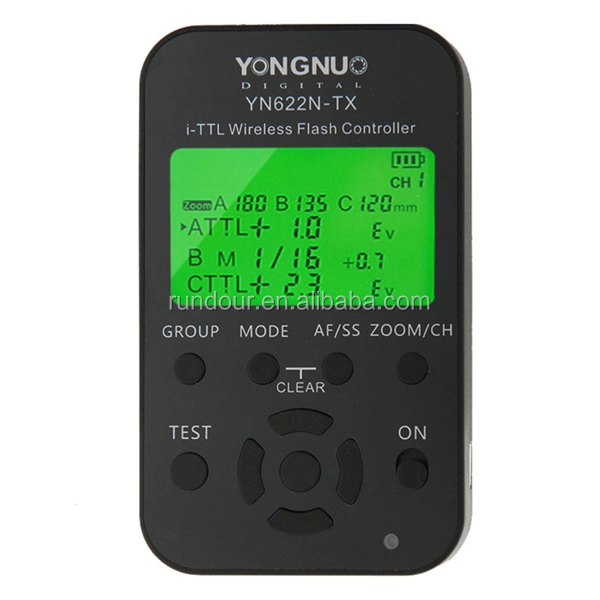 newst Yongnuo i-TTL Wireless Flash Trigger Transceiver YN622N + Transmitter Controller YN622N-TX for Nikon YN568EX YN685