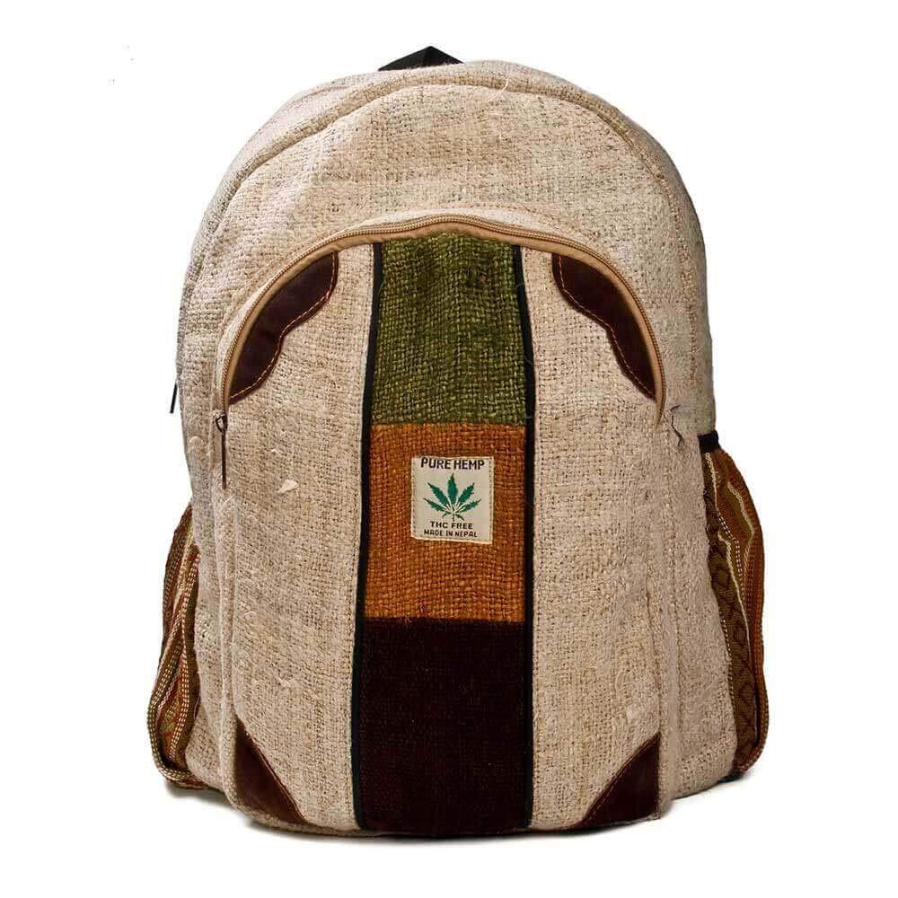 3e6e4ba383a7 Get Quotations · Hemp Medley Multi-Pocket Hemp Laptop Backpack - The Sonoran