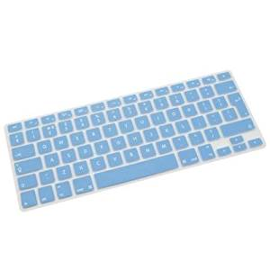 New Fashion Accessory Protector Silicone UK EU Keyboard Cover Skin For Macbook Air Pro Retina 13 15 17 Blue