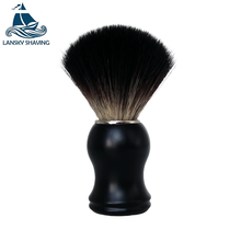 Mens handmade synthetic shaving brush