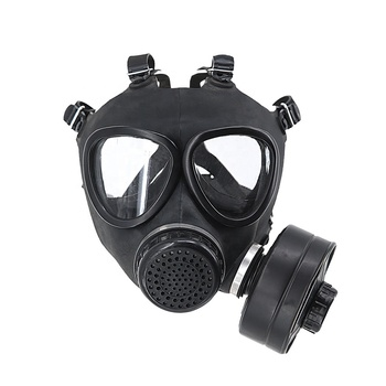 KMS Security Full Face Army Gas Mask /Military Police Gas Mask