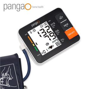 Pangao Quality Arm Digital blood pressure meter with heartbeat detection