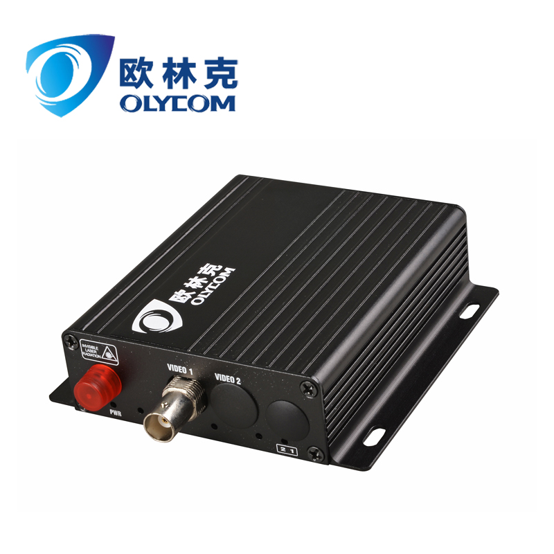 BNC Interface 1Channel Video Forward Fiber Optical Video Converter for CCTV Security