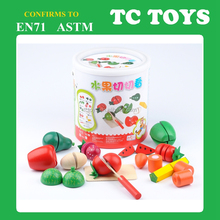 Vegetable & Fruit Cutting Toys Wooden Cutting Toys Food Cutting Toys