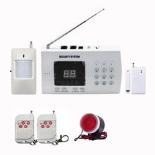 Cheap price Wireless PSTN alarm system landline telephone auto dial home alarm system