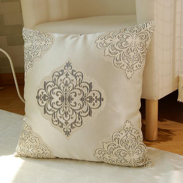 052258 European high-end luxury palace retro style home decor cushion covers with pillow core free shipping