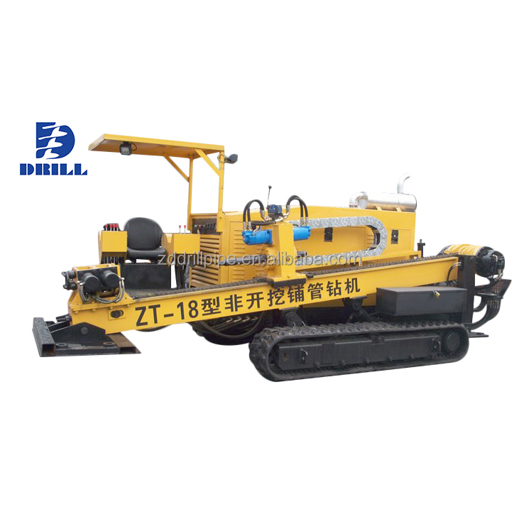 Drill Angle 8~20 Horizontal Directional Drilling Rig Machine Hdd Rig Zt-20  For Pipeline Laying - Buy Horizontal Directional Drilling Rig,Hdd
