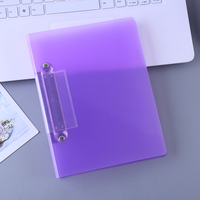 High quality custom school office stationery a4 transparent clear l shape contract file folder