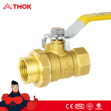Brass Union Ball Valve 1/2 inch with Long Handle and Competitive Advantage in TMOK