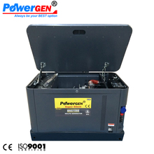 Dual Fuel !!! 60dB!!! POWERGEN 10KW LPG/NG Power Super Silent Natural Gas Turbine Generator 10KVA