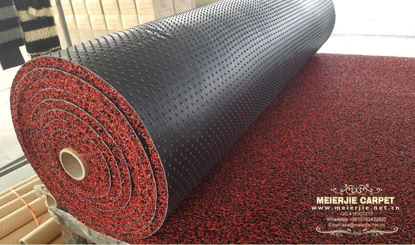 Pvc Coil Mat Carpet Roll For Car Automative Carpet