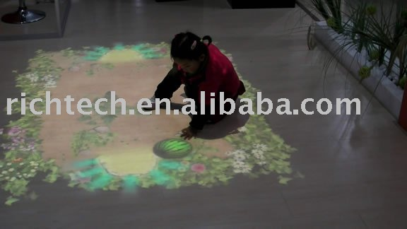 interactive floor for kid games/Advertising/Exhibition/Entertainment