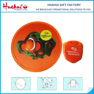 Nylon Fabric Frisbee for Promotion Gift