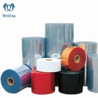 REACH & ROHS super clear PVC rigid film in roll transparent PVC film for blister pack