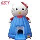 Hello kitty inflatable cartoon bouncer,Inflatable bounce house for kids,Inflatable bouncy castle for sale