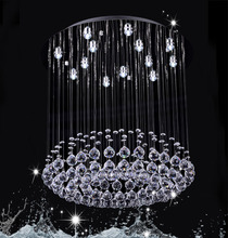 magnetic crystal drops for chandeliers DY13014-13 13 lights round crystal chandelier for decoration