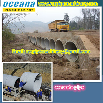 Reinforced Concrete Jacking Pipe Machine For The Road Culvert Pipes - Buy  Reinforced Concrete Jacking Pipe Machine,Culvert Pipe Making