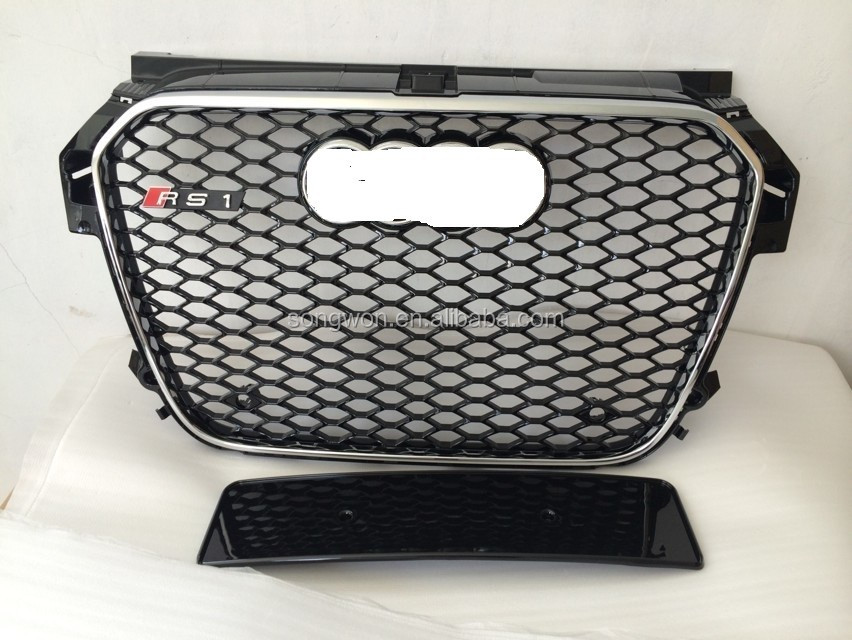 upgrade new Au-di A1 to RS1 look front grilles